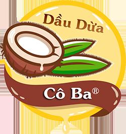 Logo dầu dừa cô ba