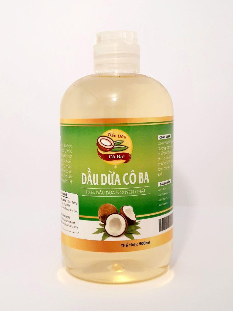 Dầu dừa Cô Ba 500ml