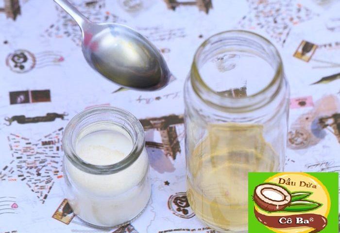 cách bảo quản dầu dừa nguyên chất