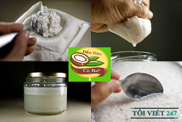Cách làm dầu dừa lạnh