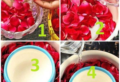 Cách làm nước hoa hồng tại nhà