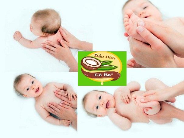 sử dụng dầu tràm cho bé đúng cách