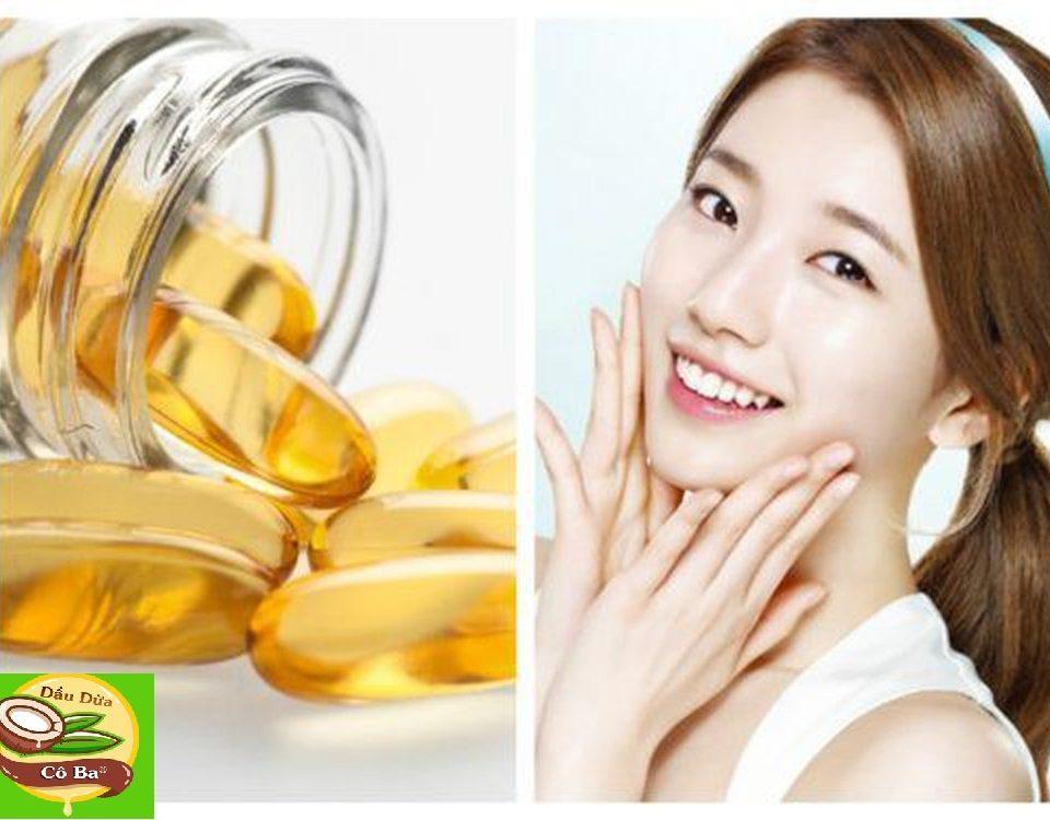 Cách làm đẹp bằng vitamin E