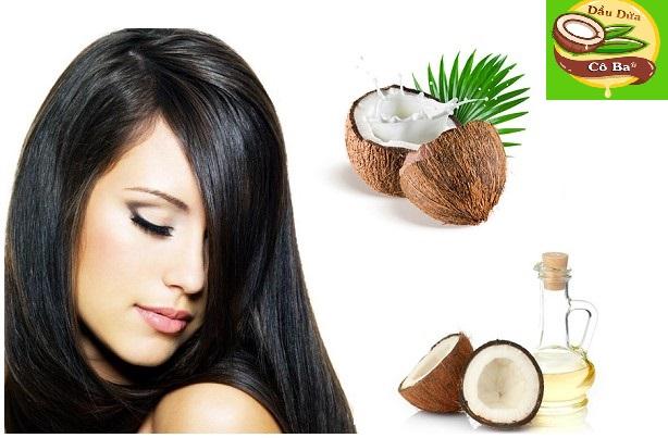 Cách trị rụng tóc bằng dầu dừa nguyên chất