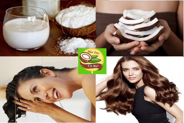 Cách ủ tóc dầu dừa đúng cách