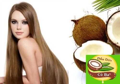 dưỡng tóc bằng dầu dừa hiệu quả sau 1 đêm