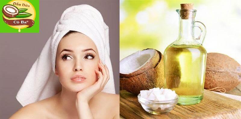 dưỡng tóc bằng dầu dừa hiệu quả