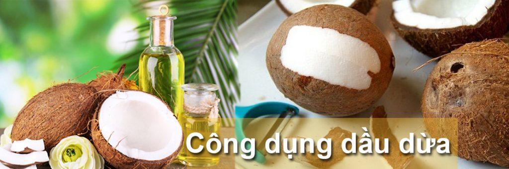 Dầu dừa có những công dụng gì?