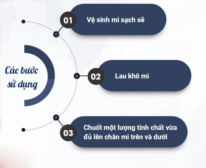 Cách sử dung Mascara Dầu Dừa Dưỡng Mi